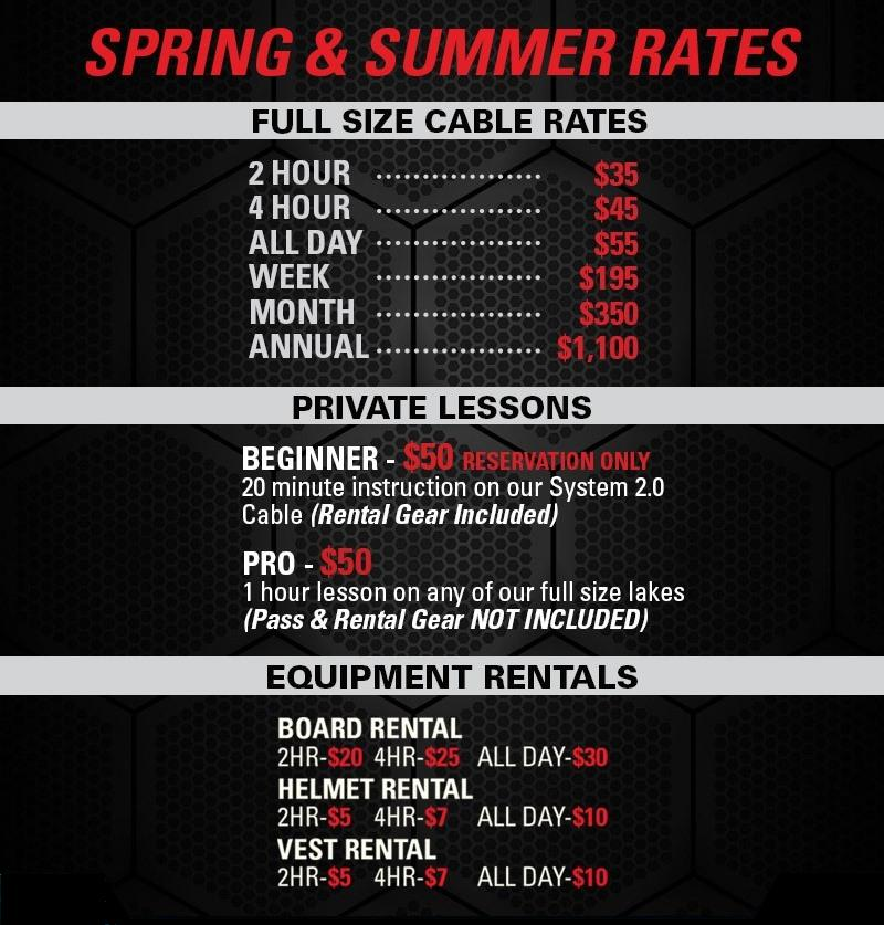 2015 spring-summer-rates